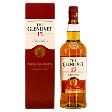 The Glenlivet 15 years French Oak Reserve